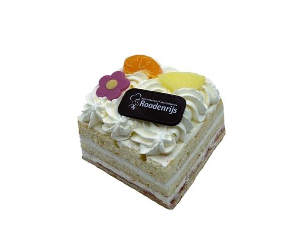 Verwen slagroom taartje